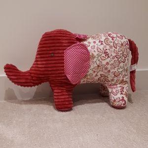 Pier 1 Stuffed Elephant